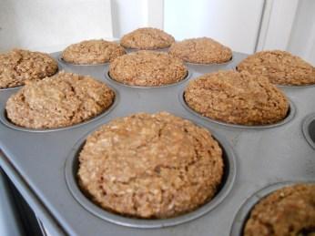 Wheat Bran Cranberry Muffin